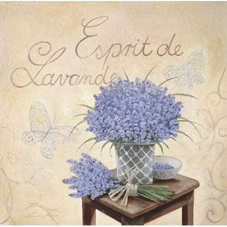 Esprit De Lavande Poster Print by Linda Moore