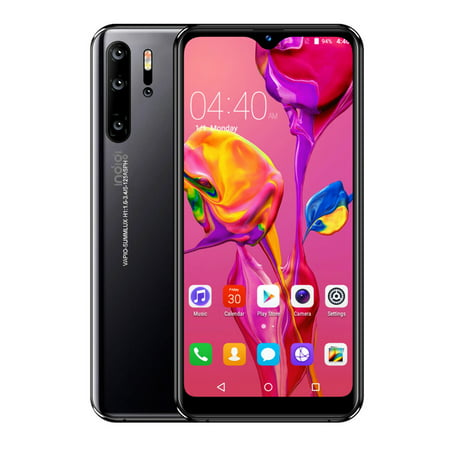 Indigi P1 Pro 4G LTE Gaming SmartPhone with 6.3in , 6GB+128GB, Android 9.1 OS (GSM Unlocked) Black + Wireless (Best Smartphone For Gaming)