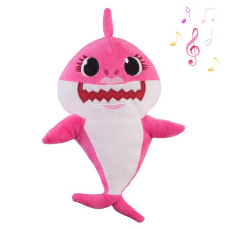 B&m Halloween Stuff 2019 (2019 Baby Shark Plush Singing Toy Music Doll English Song and LED Light Stuffed Toy for Kids Gift/Birthday Gift)