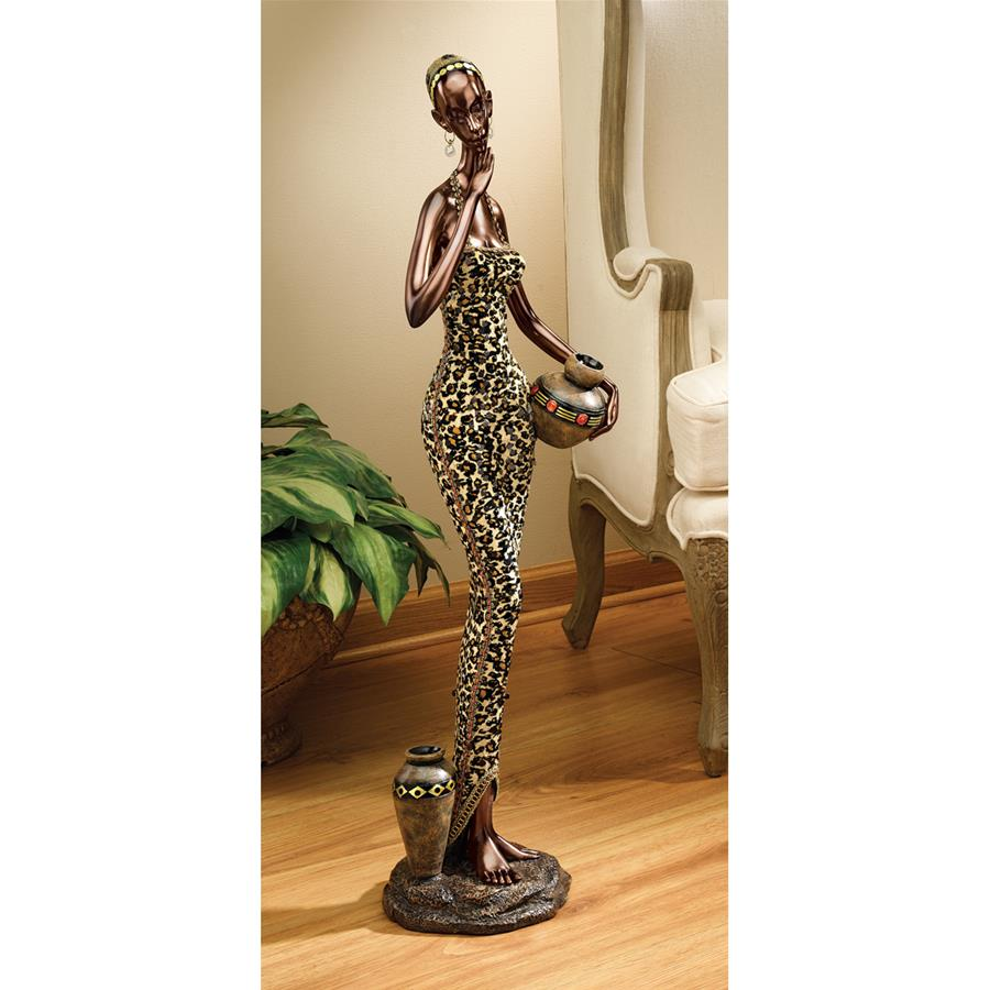 Design Toscano African Water Gatherer Statue