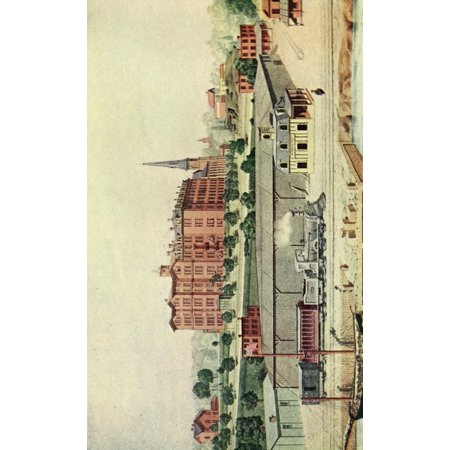 Valentines manual of old New York 1919 Manhattan College & Station 1855 Stretched Canvas - Unknown (18 x 24) (Party City College Station)
