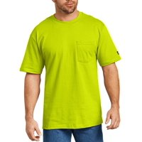 Big and Tall Men's Short Sleeve Enhanced Visibility T-Shirt, 2-Pack