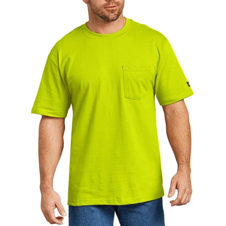 Force Color Enhanced Short (Big and Tall Men's Short Sleeve Enhanced Visibility T-Shirt, 2-Pack)