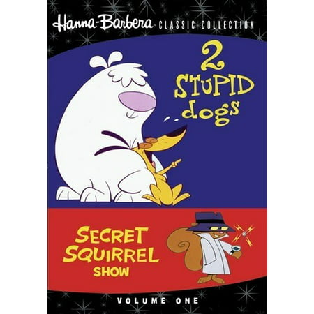 2 Stupid Dogs / Secret Squirrel Show: Volume One (DVD) (Squirrel Dog Movie)