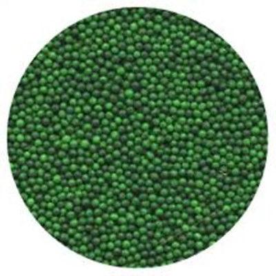 Green Non-pareils - 4 oz - National Cake Supply ()