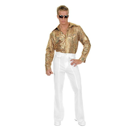 Mens Disco Shirt Halloween - 1970 Disco Clothes