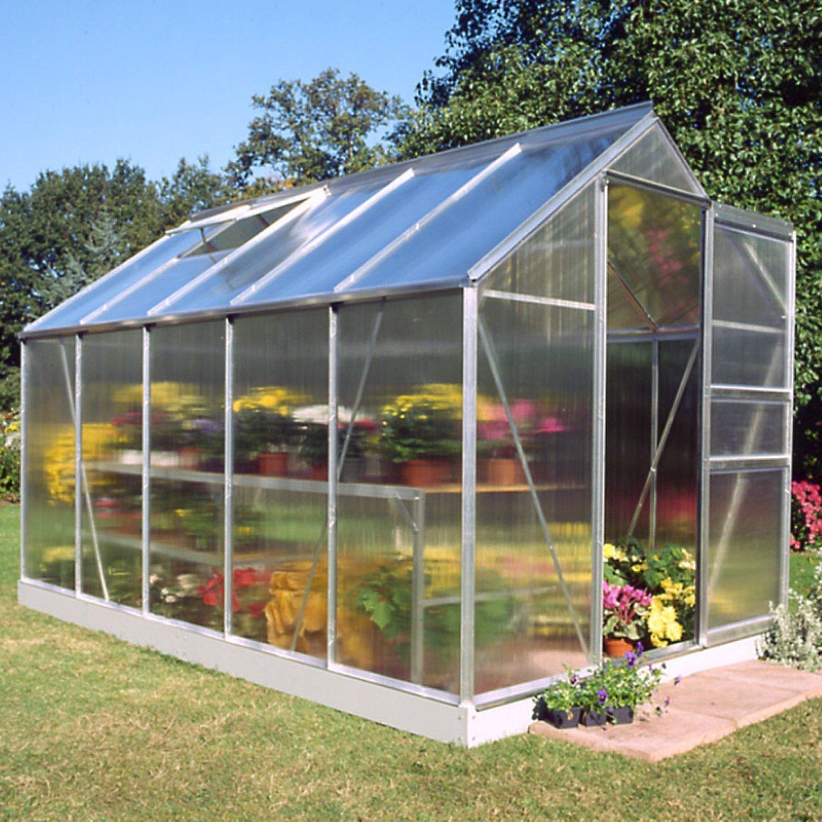 Halls Popular 6 x 10-Foot Greenhouse