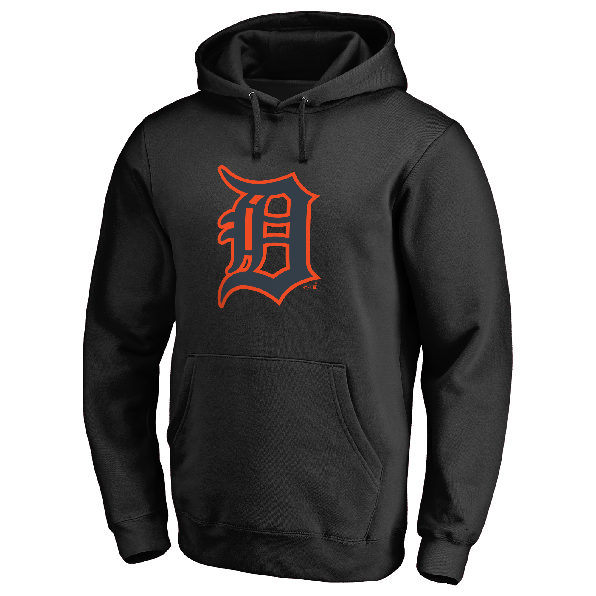 Detroit Tigers Taylor Pullover Hoodie - Black