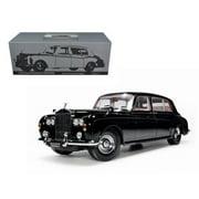 1964 Rolls Royce Phantom V MPW Black 1/18 Diecast Model Car by Paragon