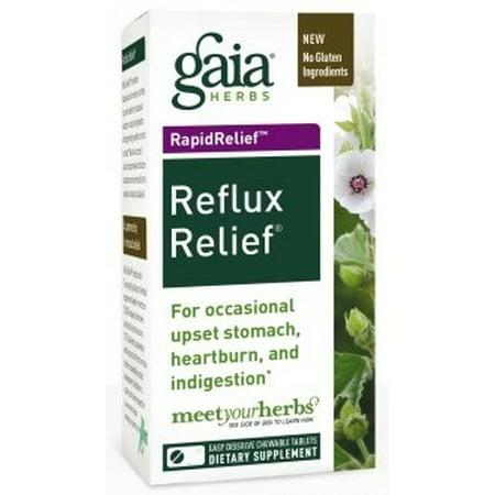 Reflux Relief Gaia Herbs 45 (Gaia Herbs Rapid Relief)