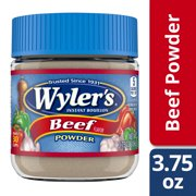 Wyler's Beef Flavor Instant Bouillon Powder 3.75 oz Jar