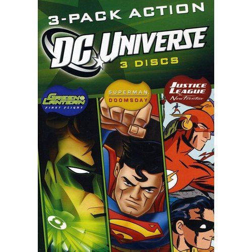 DCU Fun Pack Triple Feature - Green Lantern: First Flight / Superman: Doomsday / Justice League: The New Frontier (Widescreen)