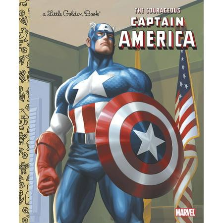 The Courageous Captain America (Hardcover)](Captain America Birthday)
