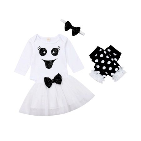 Target My First Halloween (My 1st Halloween Infant Baby Girl Clothes Romper Bodysuit Tutu Skirt Outfits)