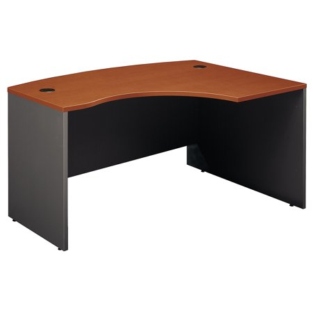 Office Furniture Series C Classic Shell Desk Design Engineered Wood Auburn Maple 60 W x 43 D Right Hand L-Bow Desk Shell