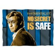 Mentalist No Secrets (Front Back Print) Pillow Case White One Size