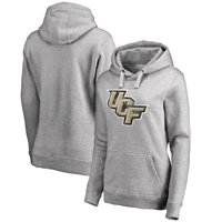 UCF Knights Fanatics Branded Women's Classic Primary Logo Pullover Hoodie - Heathered Gray