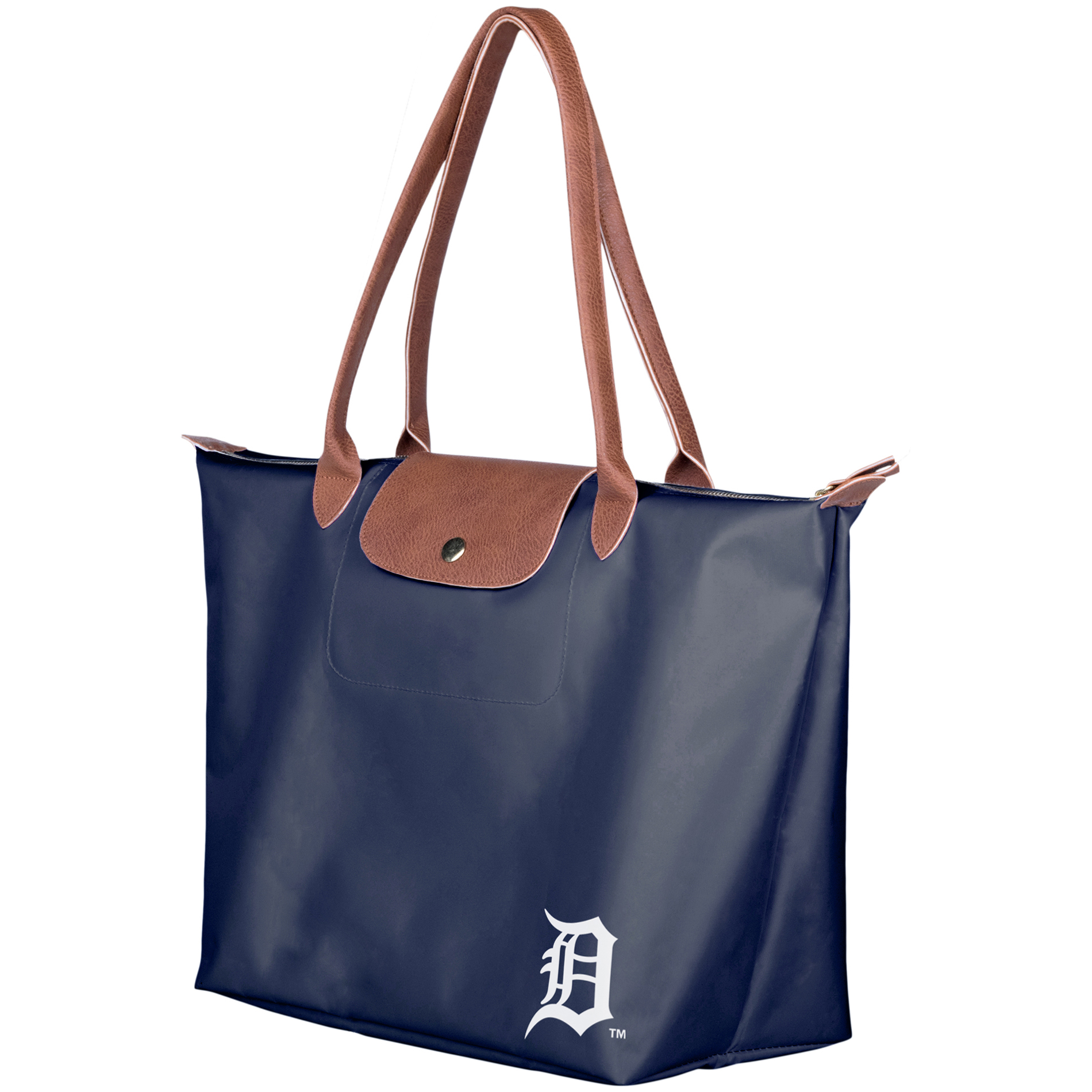 Detroit Tigers Women's Travel Tote Bag - Navy - No Size