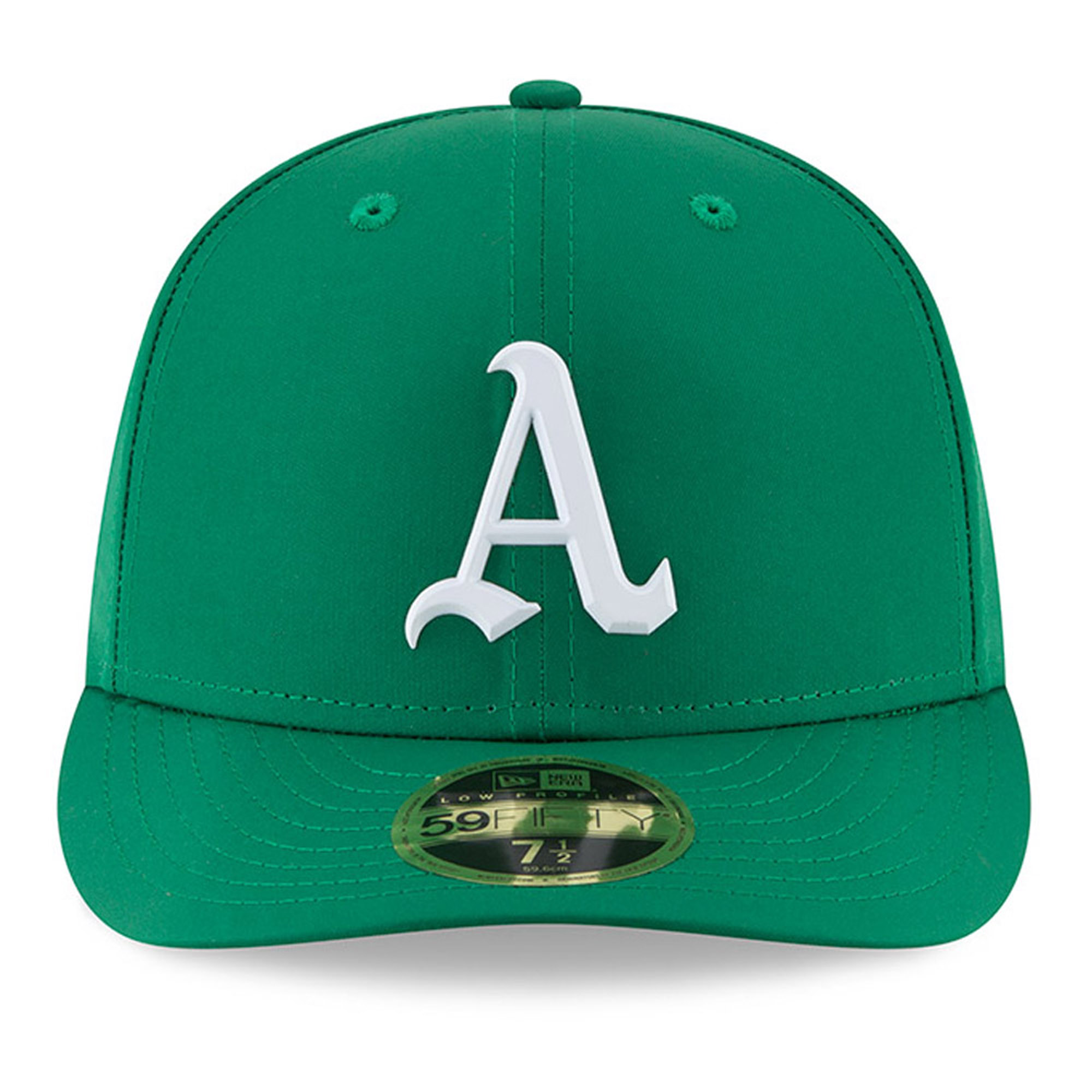 Oakland Athletics New Era 2018 St. Patrick s Day Prolight Low Profile 59FIFTY  Fitted Hat - Green - Walmart.com 217881c7e17d