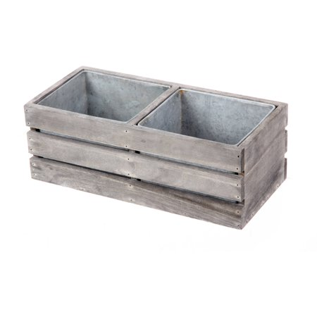 Image of Wooden Planter