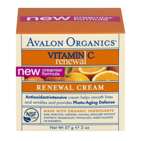 Avalon Organics Vitamin C Facial Cream 2 Fl Oz