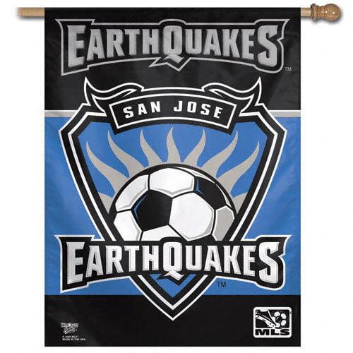 San Jose Earthquakes Vertical Flag: 27x37 Banner