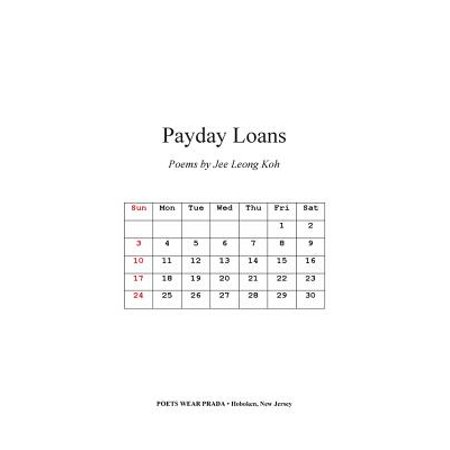 Payday Loans : Poems