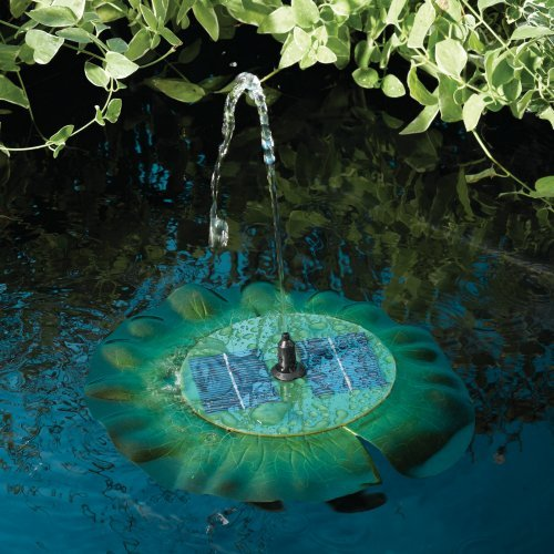 Smart Solar Floating Solar Lily Outdoor Fountain