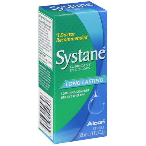ALCON SYSTANE Long Lasting  Dry Eye Lubricant Artificial Tear Drops - 1 fl oz