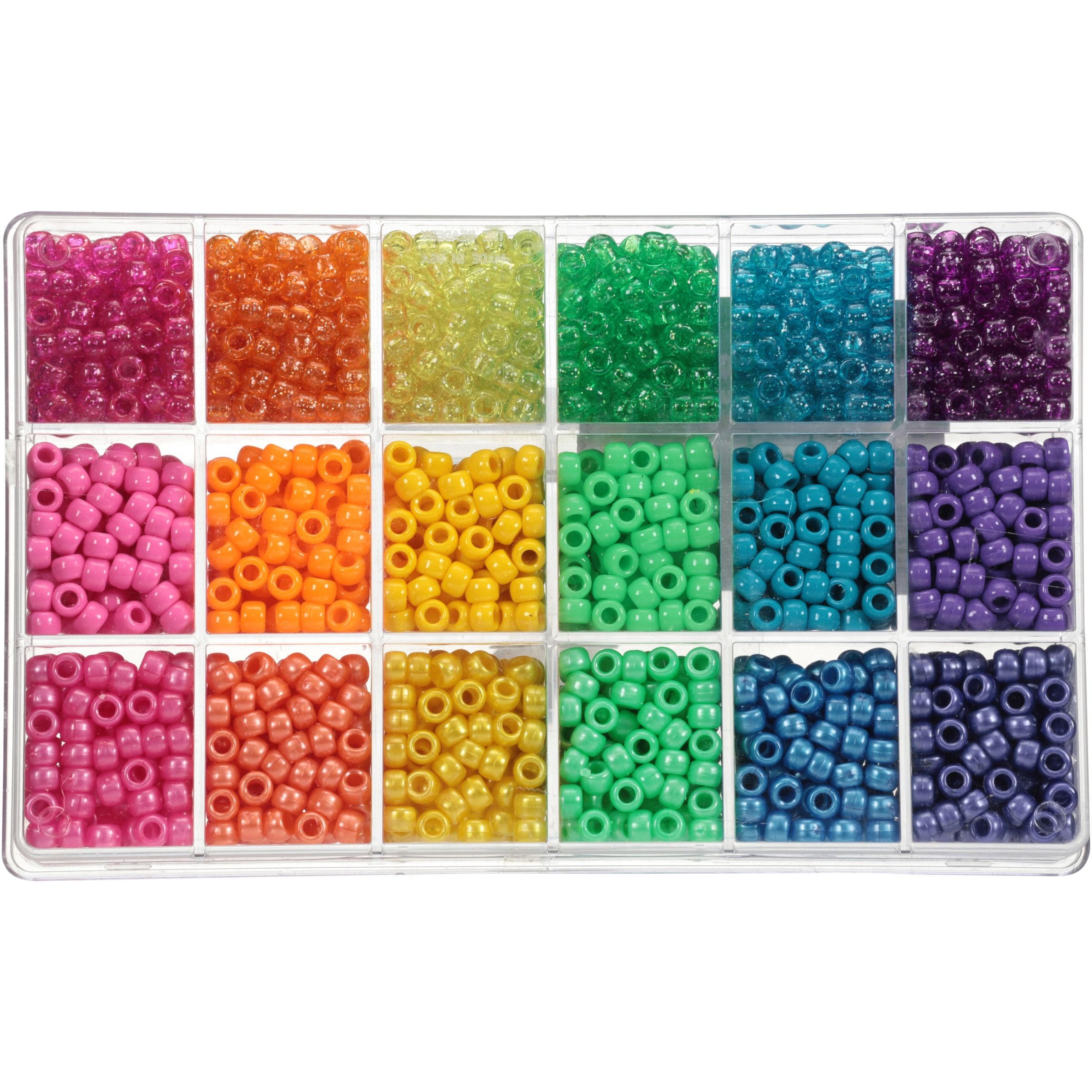 100pcs Candy 16 Mixed Color 8mm Acrylic Round Loose Beads Making Necklace Bracelet Diy Jewelry Cream Beads Handmad Neon Smooth Beads & Jewelry Making Jewelry & Accessories