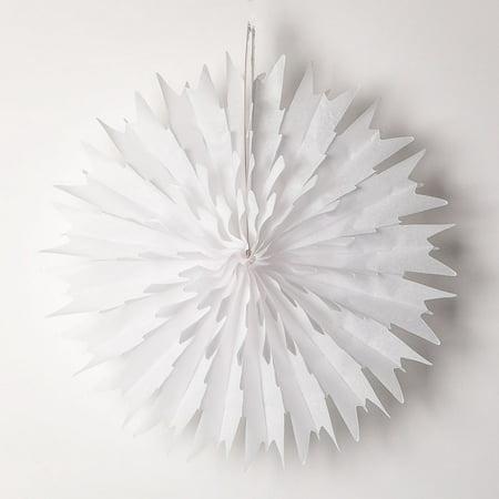 Hanging Snowflake Decorations - 16