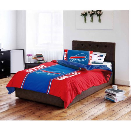 (NFL Buffalo Bills Bed in a Bag Complete Bedding Set)