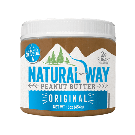 Natural Way Light Crunch Peanut Butter Made with Olive Oil, 16 (Best Way To Soften Butter Fast)