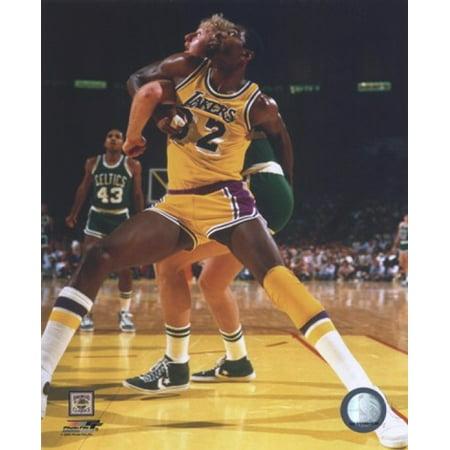 Larry Bird and Magic Johnson Sports Photo