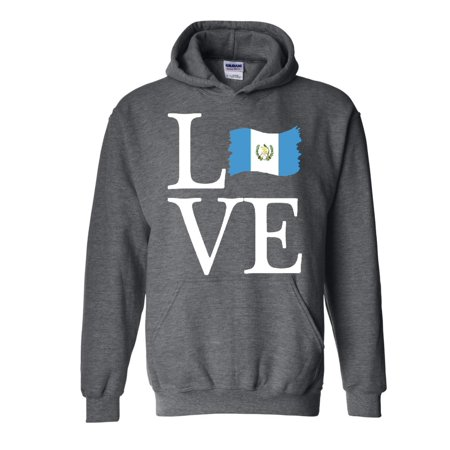 Love Guatemala Unisex Hoodie Hooded Sweatshirt