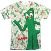 Gumby Friendly Greeting Mens Sublimation Shirt