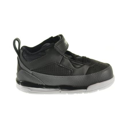 Jordan 6 Halloween (Jordan Flight 9.5 BT Toddler Shoes Black/White/Dark Grey 654977-005 (6 M)