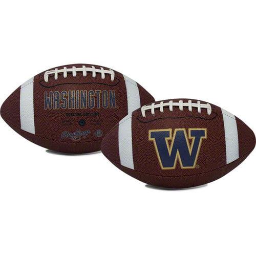 Rawlings Gametime Full-Size Football, Washington Huskies