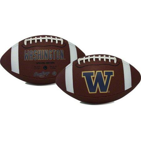 Rawlings Gametime Full-Size Football, Washington Huskies - U Of Washington Football