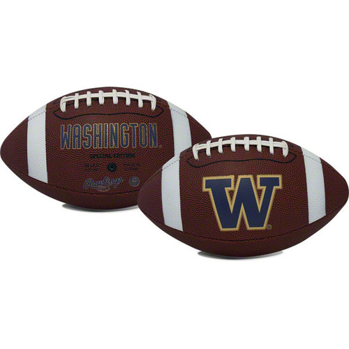 Rawlings Gametime Full-Size Football, Washington Huskies