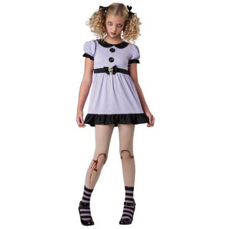 Tween Dead Dolly Girl Costume by Incharacter Costumes LLC - Living Dead Girl Costume