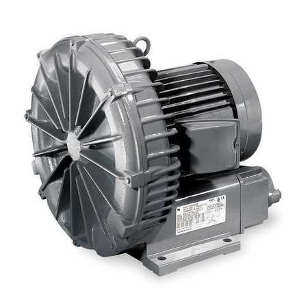 FUJI VFC500A-7W Regenerative Blower,2.50 HP,154 CFM