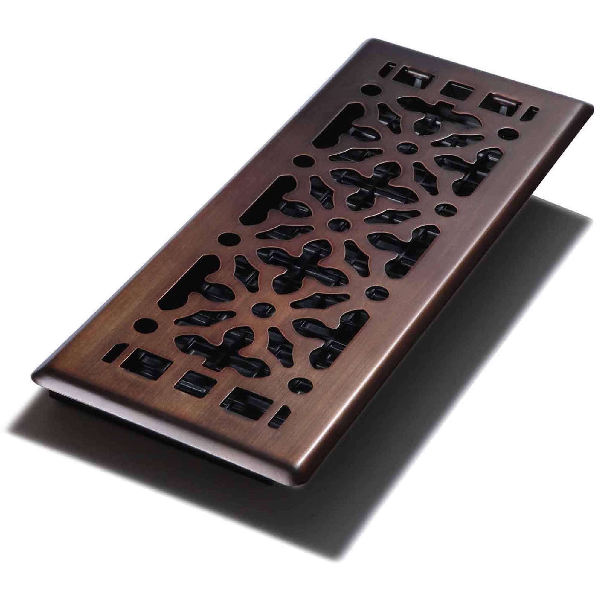Decor Grates Gothic Bronze Steel Wall Ceiling Register 4 X 12