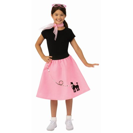 Girls Poodle Skirt Costume](Poodle Skirt Girl)