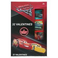 32ct Cars 3 Lenticular Valentine Cards