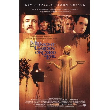 Midnight in the garden of good and evil movie poster 11 x 17 In the garden of good and evil movie