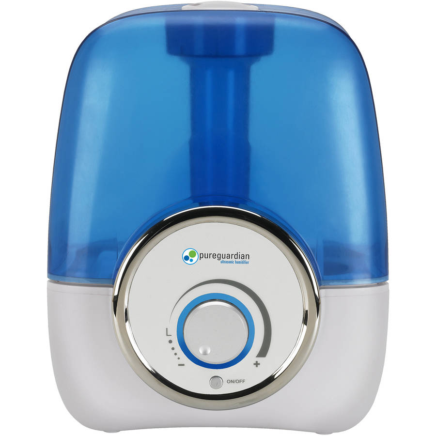 PureGuardian H1210 100-Hour Ultrasonic Cool Mist Humidifier, 1.5 gal