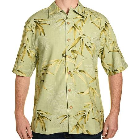 - Jamaica Jaxx Mens Silk Hawaiian Aloha Shirt