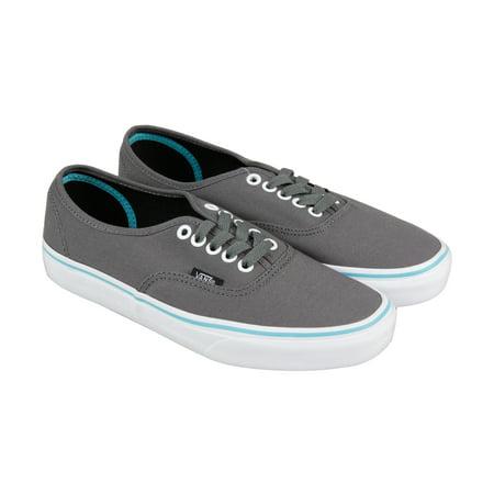 5cbd4d1afdb9bb Vans - Vans Authentic Pop Mens Gray Canvas Lace Up Sneakers Shoes -  Walmart.com