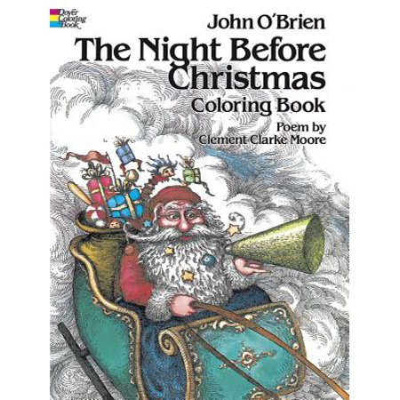 Dover Pictorial Archives: The Night Before Christmas Coloring Book